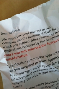 Rejection letter (Picture: MyH)
