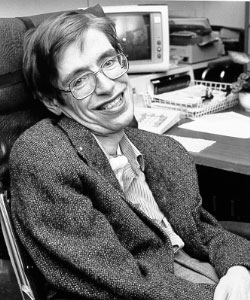 Affected with ALS: Stephen Hawking (Photo: NSA)