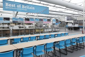 food centre with 4500 seats (Photo: London 2012)