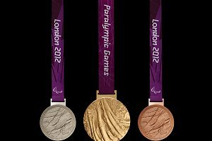 Gold, silver and bronze medals at the Paralympic Games 2012.
